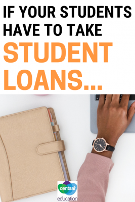 Inspiring story of how one woman paid off $68k in student loan debt. If she can do it, so can your students!