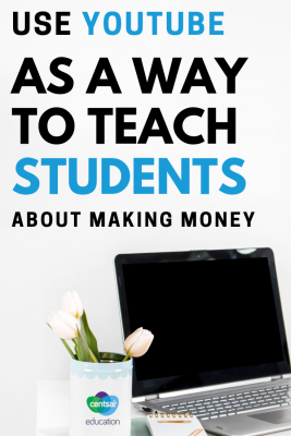 YouTube can be the ultimate side hustle, if you do it right. Show your students how to make money online.