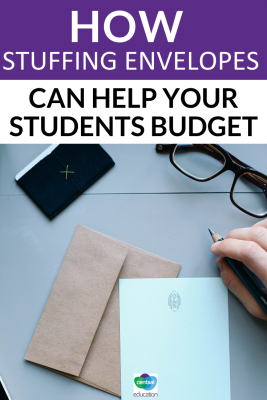 There's many ways to saving and budgeting for monthly expenses. One envelope-stuffing strategy can reward them immensely.