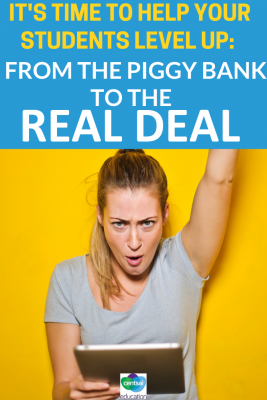 This article will take the ambiguity out of personal finance and banking and help your students understand the basics of how to step into the 'real deal'.
