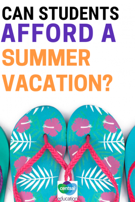 Many high school seniors dream of elaborate summer vacations once they are in college. Here are some things for them to think about now, that'll help them later!