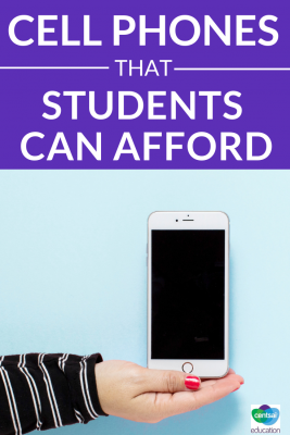 Some students have to pay for their own cell phone and it's a great opportunity for them to learn the finer points of comparison shopping and how to get the best deals.