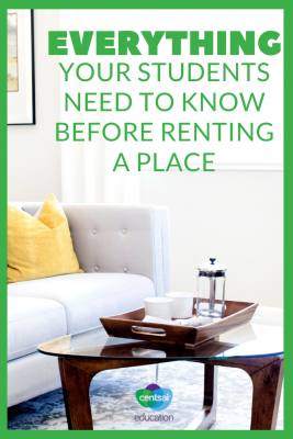 Moving out is challenging for everyone. Prepare your students with these hacks for first-time renters.