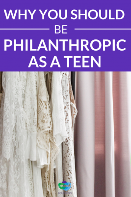 Philanthropy is super important, but some teens don't know how to go about it. Guide your class with these tips.