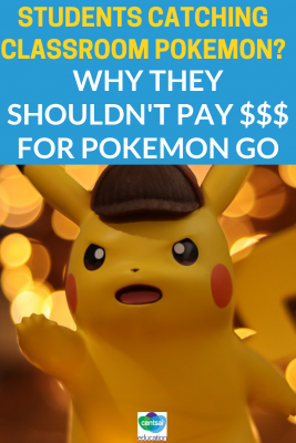 """Are your students playing Pokemon Go? """"Freemium Games"""" have taken our cellphones by storm — help your students understand why they shouldn't pay for free games."""