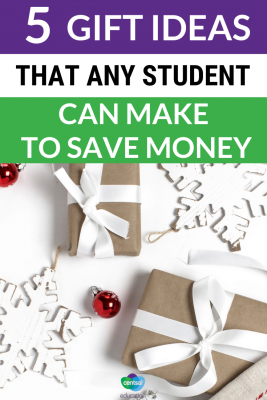 Just like you, your students want to give a gift that their friends and family will love but that won't break the bank. Here are five great gifts ideas that fit the bill.