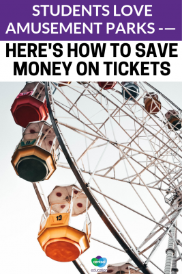 How To Save Money On Amusement Park Tickets. These tickets can be expensive! We have some #budget #tips for you! #savingtips