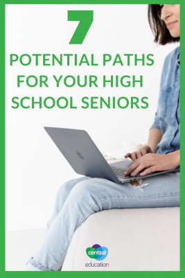 High school can be a confusing time for your students. Show your seniors these 7 potential paths once they graduate.