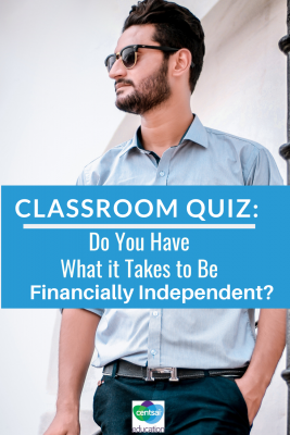 We understand —- most classes aren't filled with students who are financially independent. But that doesn't mean they can't be filled with students who don't know what it takes. #quiz #financiallyindependent #college #tips