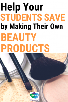 DIY is the way to go when it comes to some beauty products. This article will give your students five practical ideas that will help them save big.