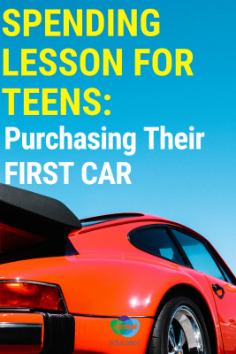 Getting a first car is so exciting! Your students will totally get money lesson on how to buy their first car.