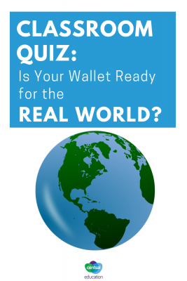 Students in your class probably have wallets — but are they ready for the real world? Find out here. #financialaid #quiz #college #collegestudents