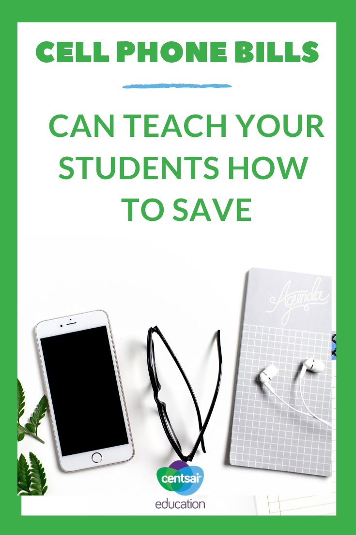 Almost every student has a cellphone, and along with that, a giant bill. Teach them how to save on their cell phone with these tricks.