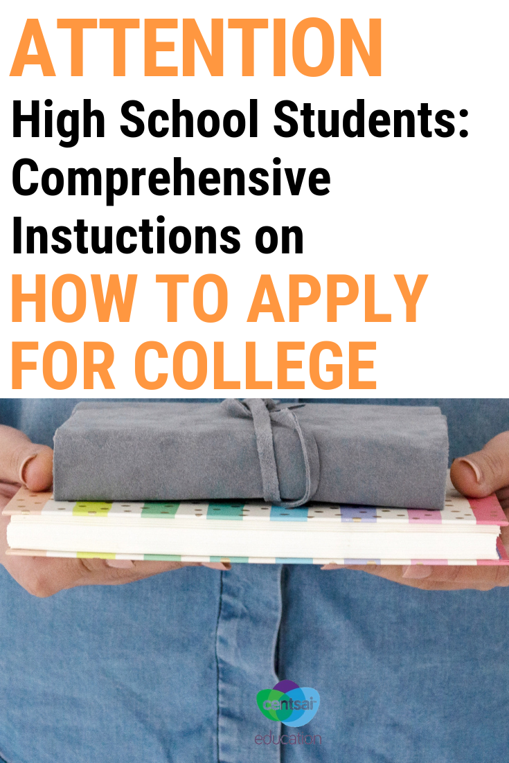 This case study will show your students the step-by-step process of applying for college.