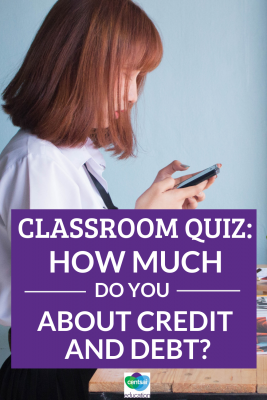 Credit and debt can be tough to wrap your head around, especially early on. How much do your students know? #improvecreditscore #creditscore #bettercreditscore