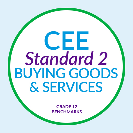 CEE Standard 2 : Buying Goods and Services