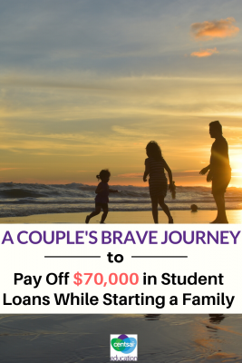 Who says you can't get a doctorate, start a family, and buy a new home while still paying off your student loans? Check out how this couple did it and get some tips from their experience! #CentsaiEducation #tips #payoffplan #debt #studentloans