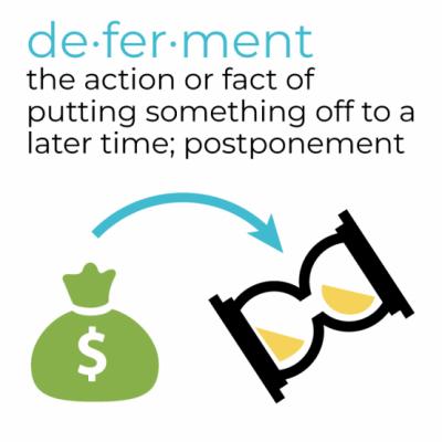 Deferment